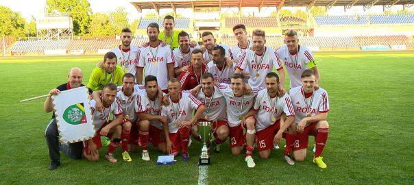 Rakamazra került a megyei futball kupaRakamaz - Madalina György együttese az egy osztállyal feljebb szereplő Sényőt verte 3-1-re a sorozat fináléjában.