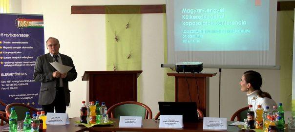 2016.11.10. magyar-lengyel logisztikai kapcsolatok