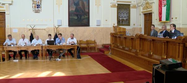 A megyei közgyülésen húsz képviselő jelent meg, így az ülés minden témában határozatképes volt.