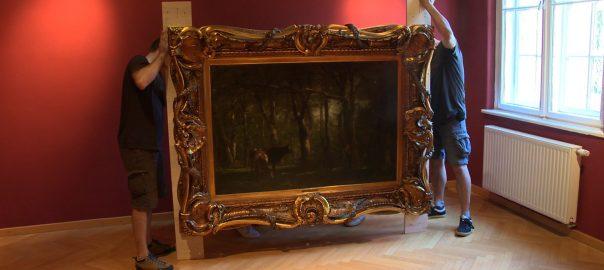 Újabb 20 darab Munkácsy festmény érkezett a Nyíregyházi Jósa András Múzeumba.