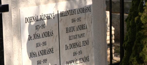 Jósa András halálának 100. évfordulójára emlékeztek csütörtök délután az Északi temetőben Nyíregyházán.