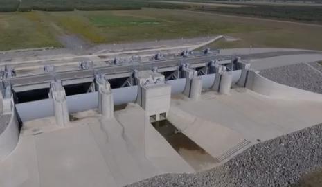 Mintegy 1,2 milliárd forintos európai uniós forrásból épül tájgazdálkodási és vízgazdálkodási infrastruktúra a Beregben.