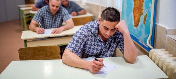 Majdnem minden ötödik fogvatarottnak, összesen több mint 3200 elítéltnek is elkezdődött az iskola szeptember elején a büntetés-végrehajtási intézetekben.