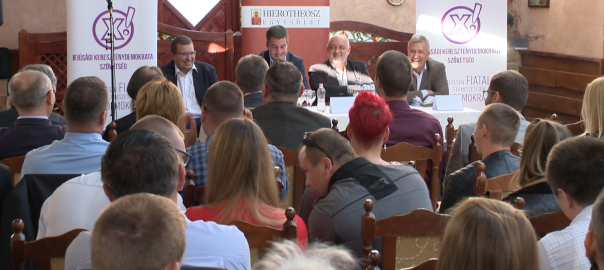 Kétnapos konferenciát rendezett az Ifjúsági Kereszténydemokrata Szövetség Nyíregyházán.